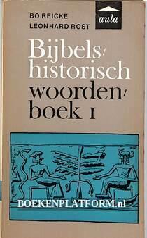 Bijbels-historisch woordenboek I