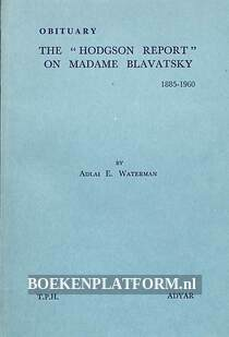 The 'Hodgson Report' on Madame Blavatsky