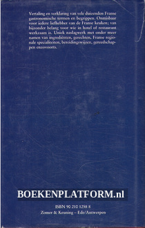 Gastronomisch woordenboek Frans-Nederlands