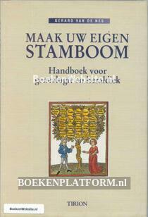 Maak uw eigen Stamboom Handboek voor genealogie en heraldiek