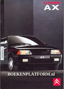 Citroen AX 1990 brochure