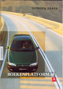 Citroen Xsara 1997 brochure