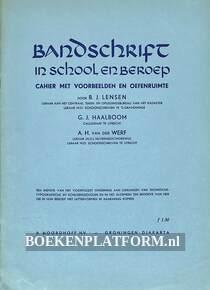 Bandschrift in school en beroep