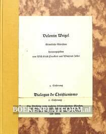Dialogus de Christanismo 1584