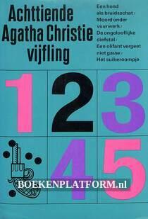 Achttiende Agatha Christie vijfling