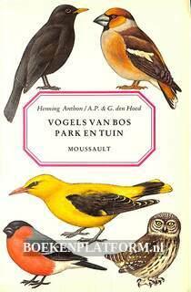 Vogels van bos, park en tuin