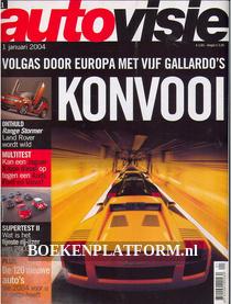 Autovisie 2004 Complete jaargang