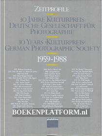 30 Years Kulturpreis, German Photographic Society 1959-1988