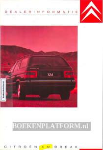 Citroen XM Break 1991 brochure