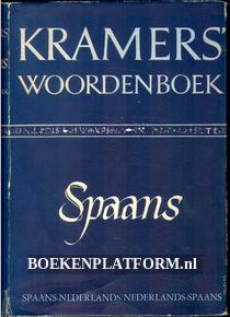 Kramers woordenboek Spaans