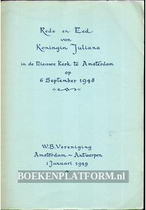 Rede en Eed van Koningin Juliana 1948