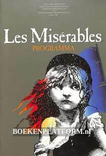 Les Miserables, programmaboekje