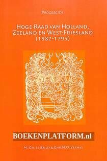 Hoge Raad van Holland, Zeeland en West-Friesland