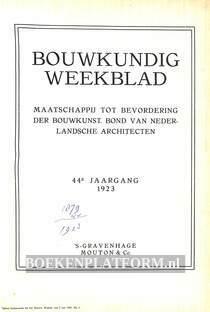 Bouwkundig Weekblad 1923