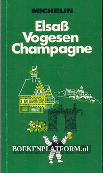Reiseführer Elsass, Vogesen, Champagne