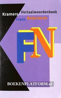 Kramers vertaal-woordenboek Frans Nederlands