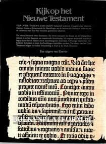 Kijk op het nieuwe testament