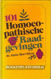 101 Homeopathische Raadgevingen