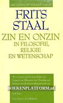 Zin en onzin in filosofie, religie en wetenschap