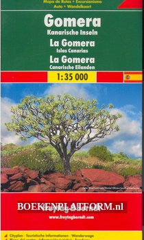 Auto + Wandelkaart La Gomera, Canarische Eilanden