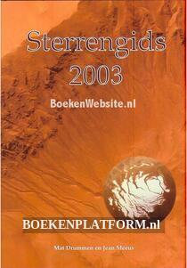Sterrengids 2003