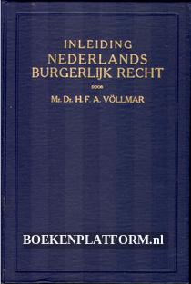 Inleiding tot de studie Nederlands burgelijk recht