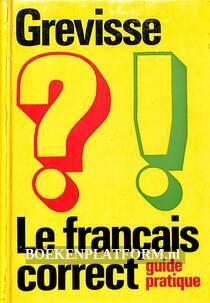 Le francais correct