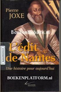 L 'edit de Nantes