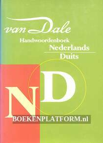 Van Dale handwoordenboek Nederlands / Duits