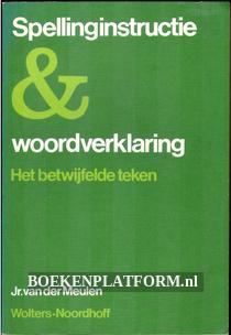 Spellingsinstructie & woordverklaring
