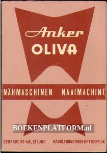 Anker Oliva naaimachine, handleiding