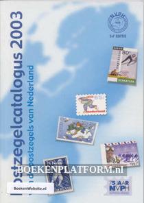 Postzegelcatalogus 2003 van de postzegels van Nederland