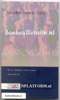 Salaris Index 2002 CAO's in Nederland