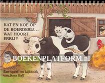 Kat en koe op de boerderij...wat hoort erbij?