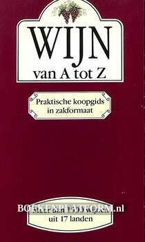 Wijn van A tot Z