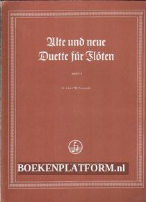 Alte und neue Duette für Flöten 2