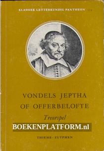 Vondels Jeptha of offerbelofte