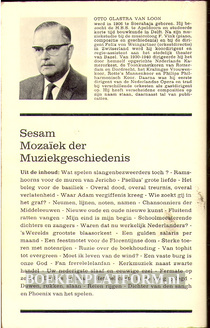 Mozaiek der muziekgeschiedenis 1