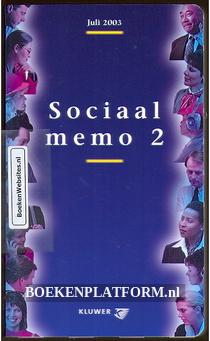 Sociaal memo 2