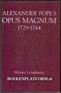 Alexander Pope's Opus Magnum