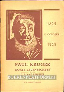 Paul Kruger, korte levensschets