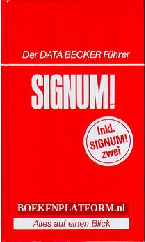 Der Data Becker Führer Signum!