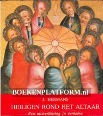 Heiligen rond het altaar
