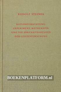 Naturbeobachtung, Experiment, Mathematik....