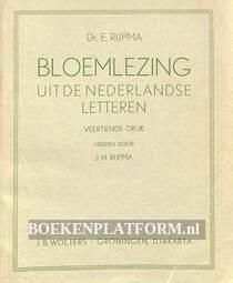 Bloemlezing uit de Nederlandse letteren 1
