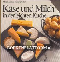 Käse und Milch in der leichten Küche