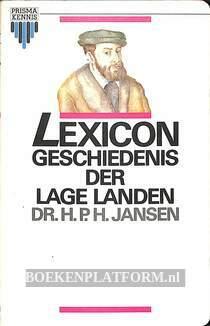 2129 Lexicon geschiedenis der Lage Landen