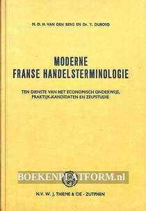 Moderne Franse handelsterminologie