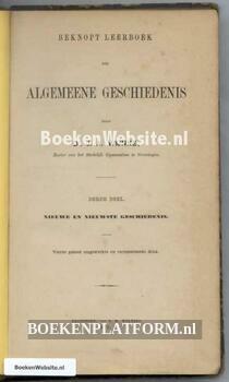 Beknopt Leerboek der Geschiedenis van het Vaderland dl. 03