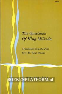 The Questions of King Milinda I